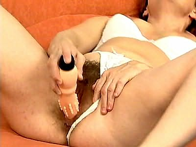 Chubby fat pussy being drilled
