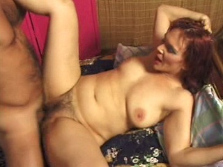 Redhead with fire hairy crotch