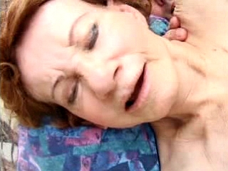 Nasty granny fucks instructor