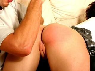 Spanking and banging nice ass