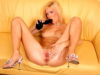 Sexy hot blonde Margareth solo